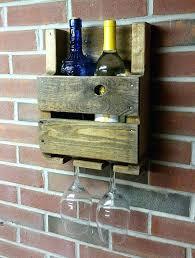 wine rack rustic wall wine glass rack rustic wall mounted wine