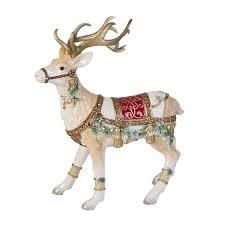 white reindeer figurines you ll wayfair