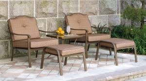 Mainstays Patio Furniture by Mainstays Brookwood Landing Cushions Walmart Replacement Cushions
