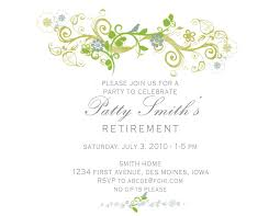 What Is Rsvp In Invitation Card Free Retirement Invitation Templates Marialonghi Com