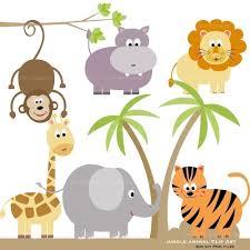 jungle animal clip art many interesting cliparts
