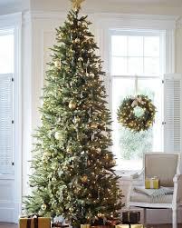 Downswept Slim Christmas Tree by Silverado Slim Artificial Christmas Tree Balsam Hill