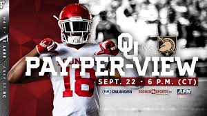 Oklahoma Travel Watch images How to watch ou army on pay per view the official site of jpg