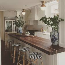 Kitchen Butcher Block Island Great Example Of Support Columns Via Amie Corley Interiors And The