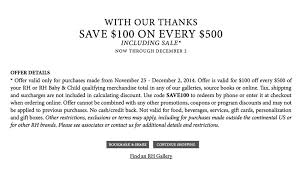 restoration hardware black friday 2017 sale outlet deals cyber