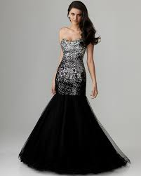 elegant black mermaid dress naf dresses