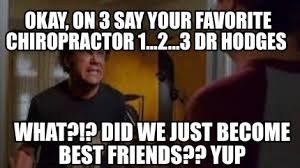 Did We Just Become Best Friends Meme - meme creator okay on 3 say your favorite chiropractor 1 2 3