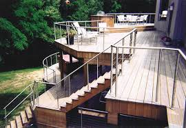 stainless steel cable deck railing cable deck railing