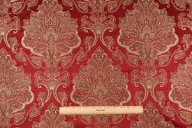 Waverly Upholstery Fabric Sales Yards Waverly Aziza Tapestry Upholstery Fabric In Garnet