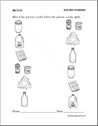 recycle worksheet free worksheets library download and print