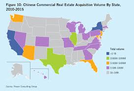 Real Estate Map Chinese Investment In U S Real Estate Still Booming Says Report