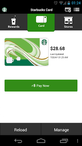 starbucks app android starbucks updates app to follow holo design guidelines android