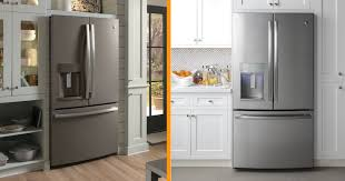 white kitchen cabinets with black slate appliances slate appliances vs stainless steel reviews pros and cons