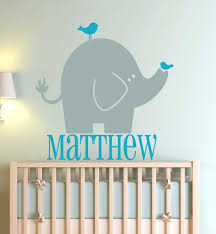 Custom Nursery Wall Decals Custom Nursery Wall Decals Elephant Wall Decals For Sizes Color