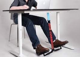 under desk foot exerciser hovr the under desk swing for your feet aims to make fidgeting