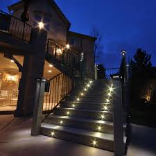 custom outdoor stair lights led decoration outdoor stair lights