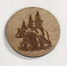 wooden birch coasters u2013 stoney creek charms u0026 engraving