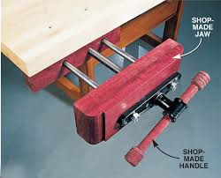 How To Build A Bench Vise All About Vises
