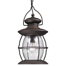 outdoor hanging ceiling lights village caged glass outdoor hanging pendant shades of light