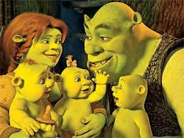 exclusive shrek u0027s babies revealed