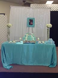 modern events tiffany themed baby shower