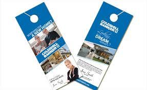 coldwell banker door hangers coldwell banker door hangers templates