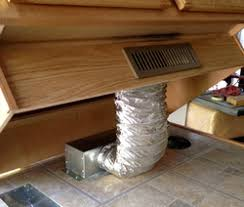 Toe Kick For Kitchen Cabinets by Toe Kick Ducting Kit Gets Airflow Out Into The Room And Out From