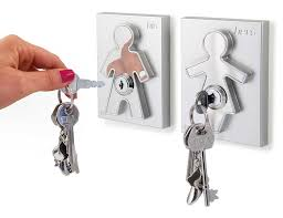 amazon com his and her key holder home u0026 kitchen