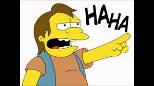 Haha Simpsons Meme - simpsons nelson muntz haha meme nelson best of the funny meme