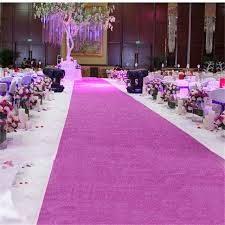 purple aisle runner 10 meter even sparkle carpet glitter aisle runner stage runner