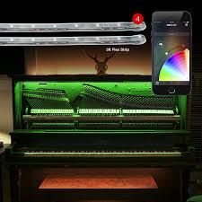Home Interior Led Lights by 4x3ft Flex Strips Xkchrome Ios Android App Bluetooth Control