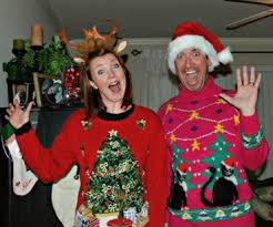 ugly christmas party sweaters rainforest islands ferry