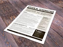 Designed Resumes Custom Designed Resumes Black Locust Web U0026 Graphic Design
