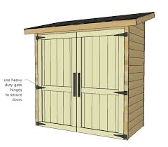 How To Build A Garden Shed Step By Step by Ana White Small Cedar Fence Picket Storage Shed Diy Projects