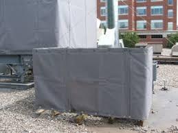 Sound Barrier Curtain Roof Top Unit Rtu Sound Barrier Case Study