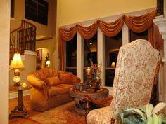 Tuscan Style Curtains Ideas Living Room Window Blinds Style Home Interior Pinterest Home
