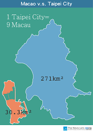 Macau China Map by 11 Diagrams How Big Are The Major Cities In Asia The News Lens