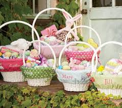 easter basket liners personalized a daily dose of davis march 2009