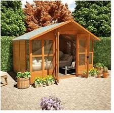 Summer Houses For Garden - garden shed with style cottage garden sheds pinterest