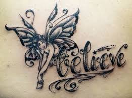 fairy tattoo designs with the meaning