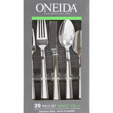 robinson home products oneida madison 20 piece flatware set