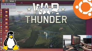 war thunder gameplay and performance on ubuntu 14 04 linux native
