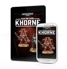 painting guide khorne warhammer 40 000 tablet edition from