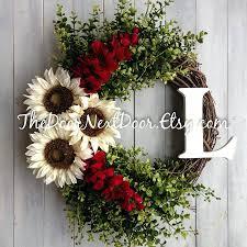 image flowers wreaths front door summer for pinterest to make