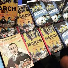 march book two congressman lewis and his award winning graphic novel