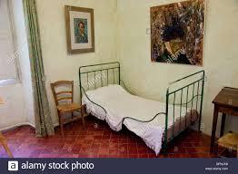 van gogh s bedroom at the asylum st paul de mausole in st remy stock photo van gogh s bedroom at the asylum st paul de mausole in st remy de provence france