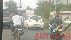 nissan micra on road price in chennai spy shots datsun go spotted testing in chennai indian cars
