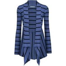 Autumn Cashmere Rib Drape Cardigan Autumn Cashmere Draped Open Knit Cotton Cardigan Autumncashmere