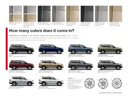 colors for toyota highlander 2012 toyota highlander brochure ta florida toyota dealer wesley