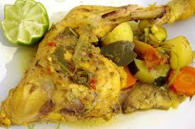 cuisine antillaise colombo de poulet authentique délice des antilles kiyakuisine